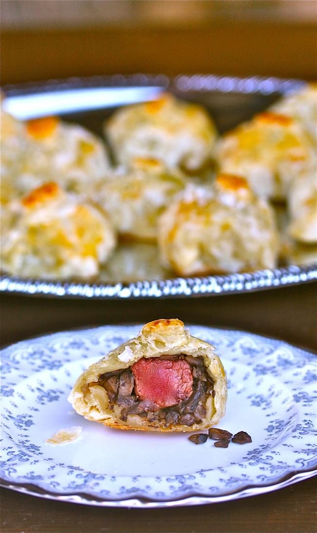 Beef Wellington Appetizers  Salt Crusted Mini Beef Wellingtons The Hopeless Housewife