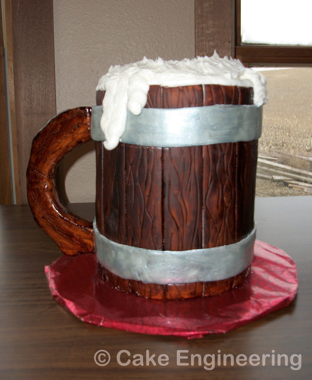 Beer Mug Cake  Beer Mug Cake by cake engineering on DeviantArt