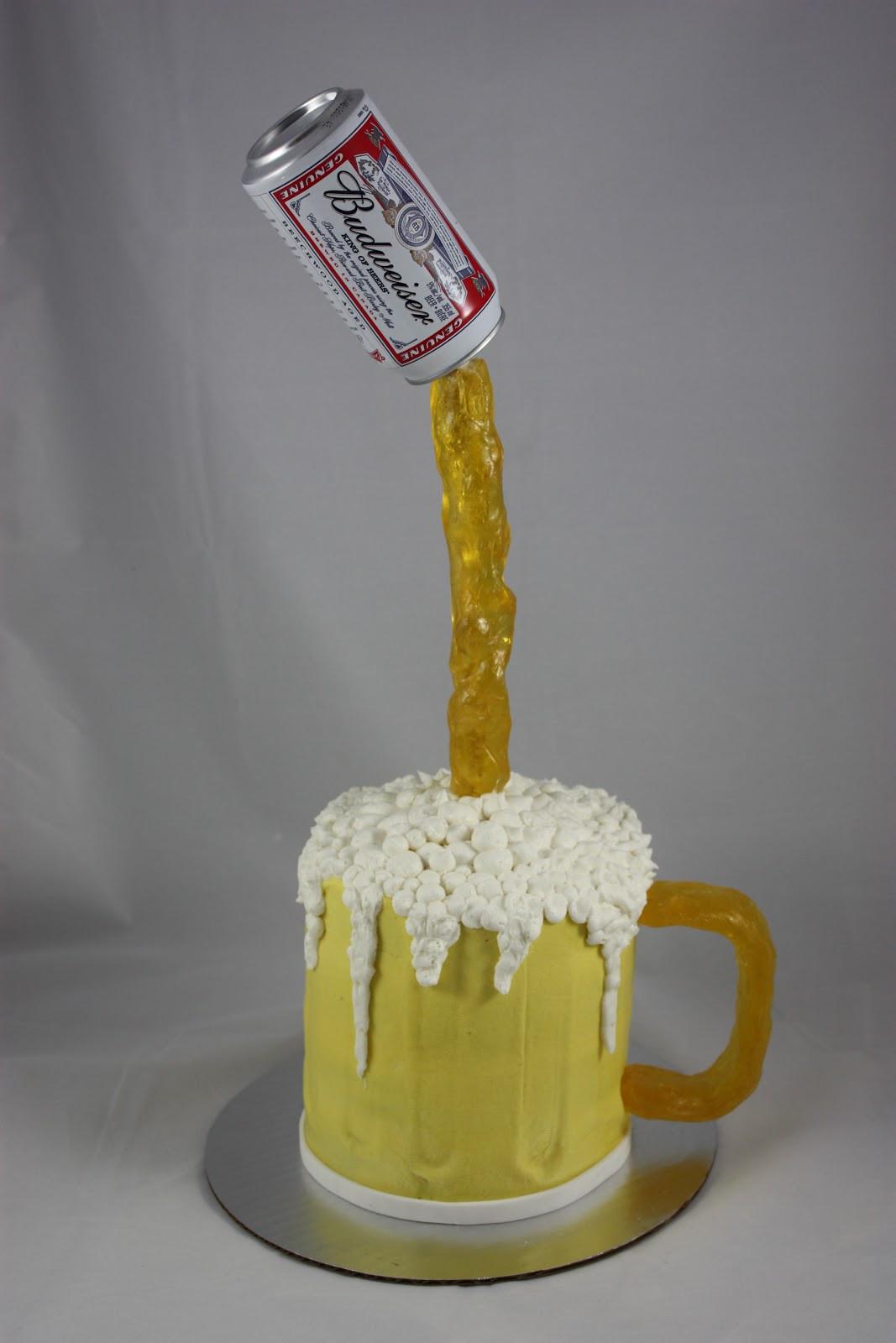 Beer Mug Cake  Sweet You Designer Cups & Cakes Beer Mug Cake