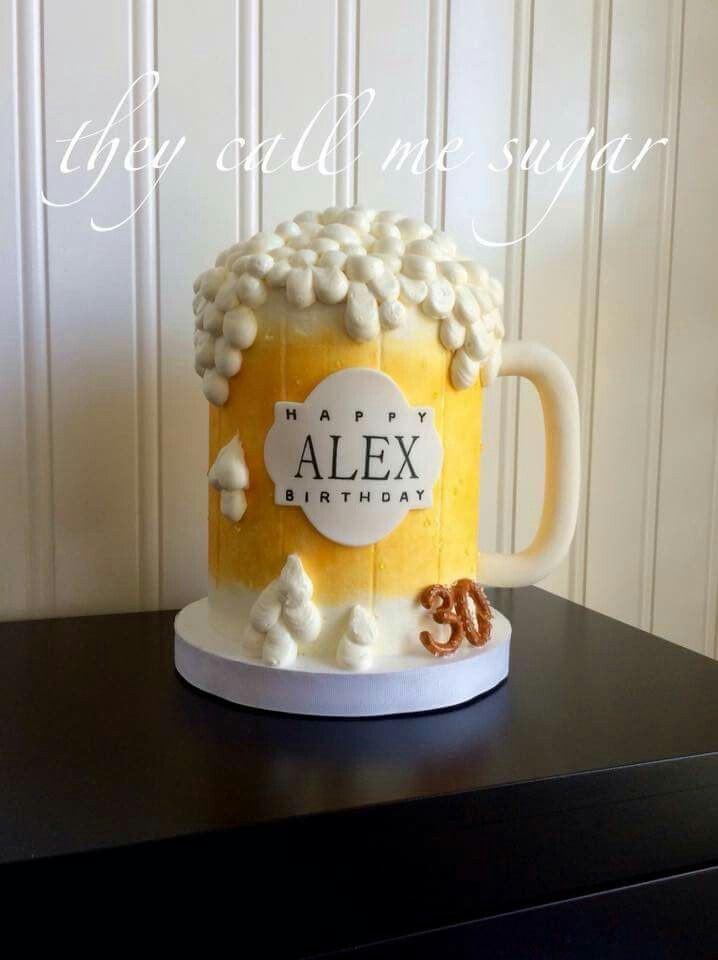 Beer Mug Cake  Beer Mug Cake