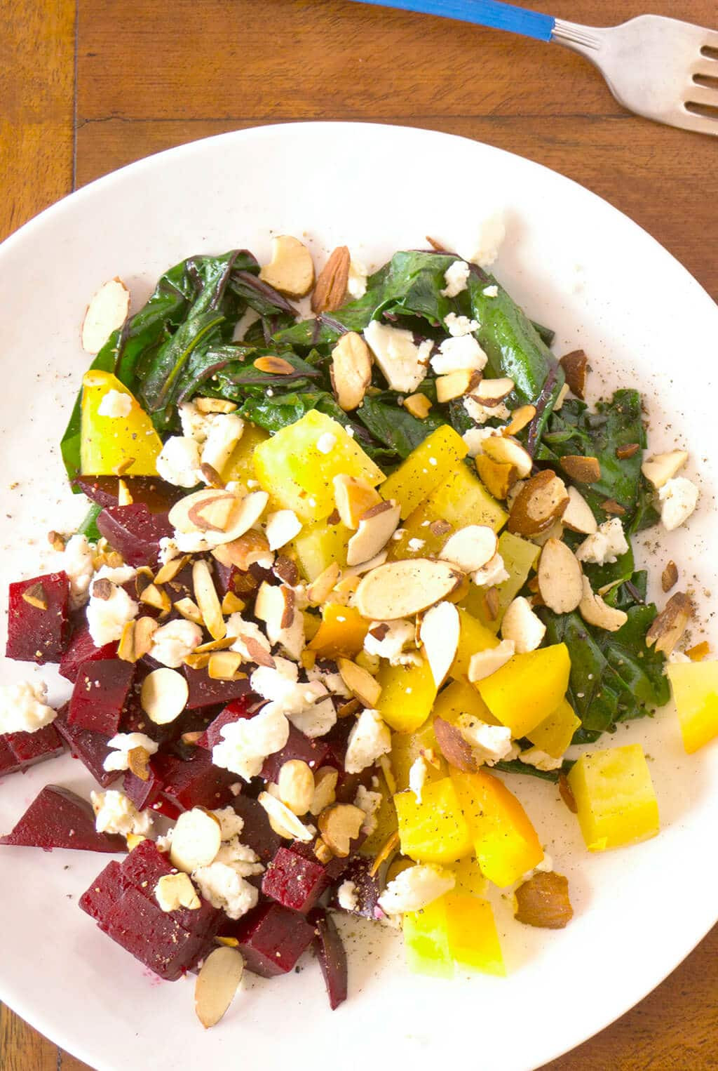 Beet Greens Salad  Warm Beets & Greens Salad Oat&Sesame