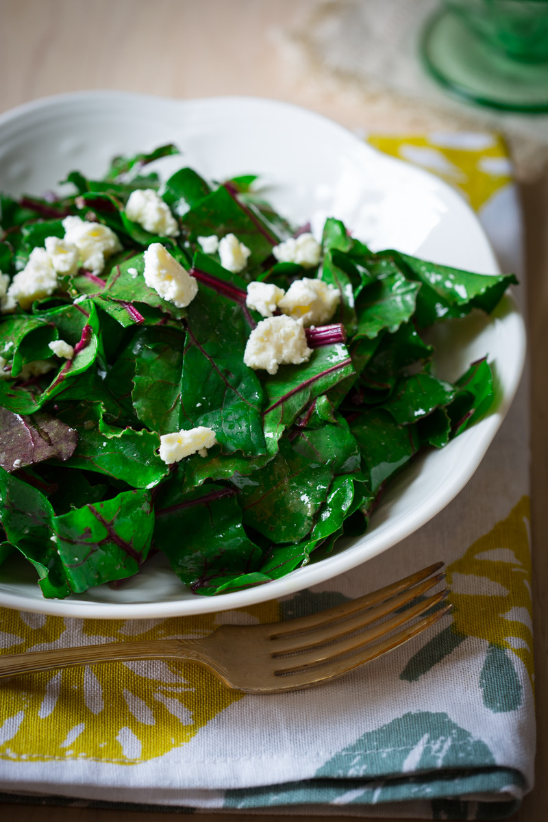 Beet Greens Salad  what to do with beet greens and a recipe for beet green