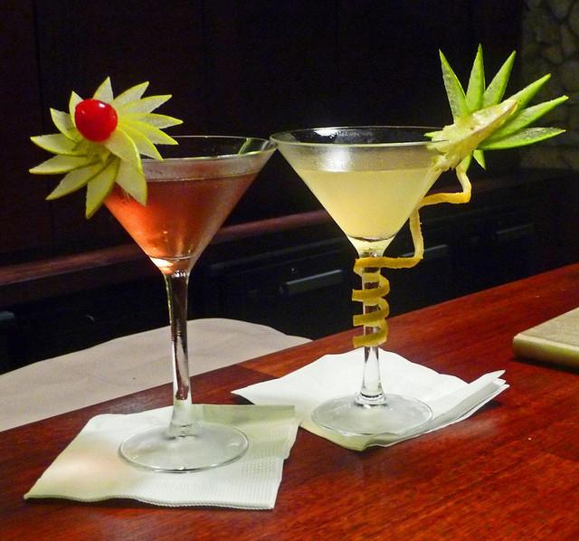 Before Dinner Drinks  Bora Bora Intercontinental Thalasso Spa Before Dinner