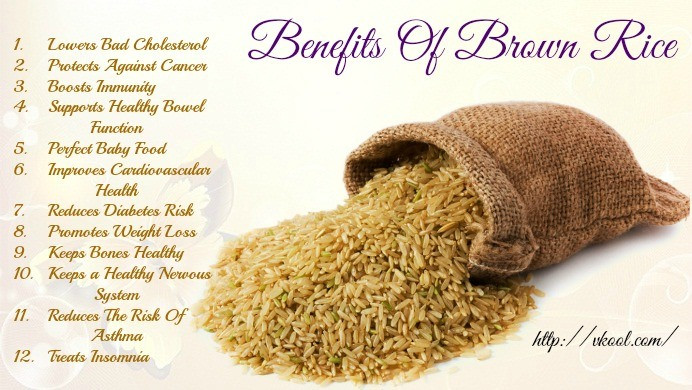 Benefits Of Brown Rice  12 Health Benefits of Brown Rice You Should Know