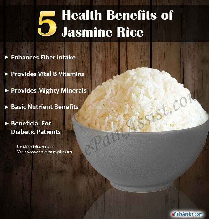 Benefits Of Brown Rice  5 Health Benefits of Jasmine Rice
