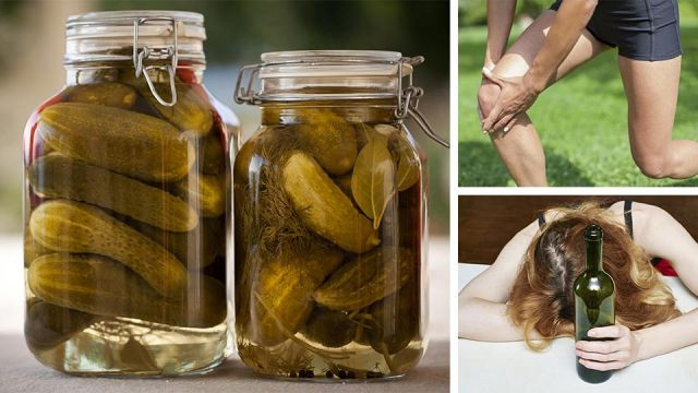 Benefits Of Drinking Pickle Juice  Herbal Reme s – Daily Health Tips