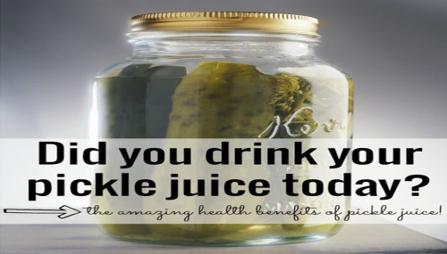 Benefits Of Drinking Pickle Juice  The Amazing Health Benefits Pickle Juice