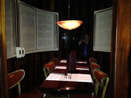 Berns Dessert Room  Menu Picture of Harry Waugh Dessert Room at Bern s Steak