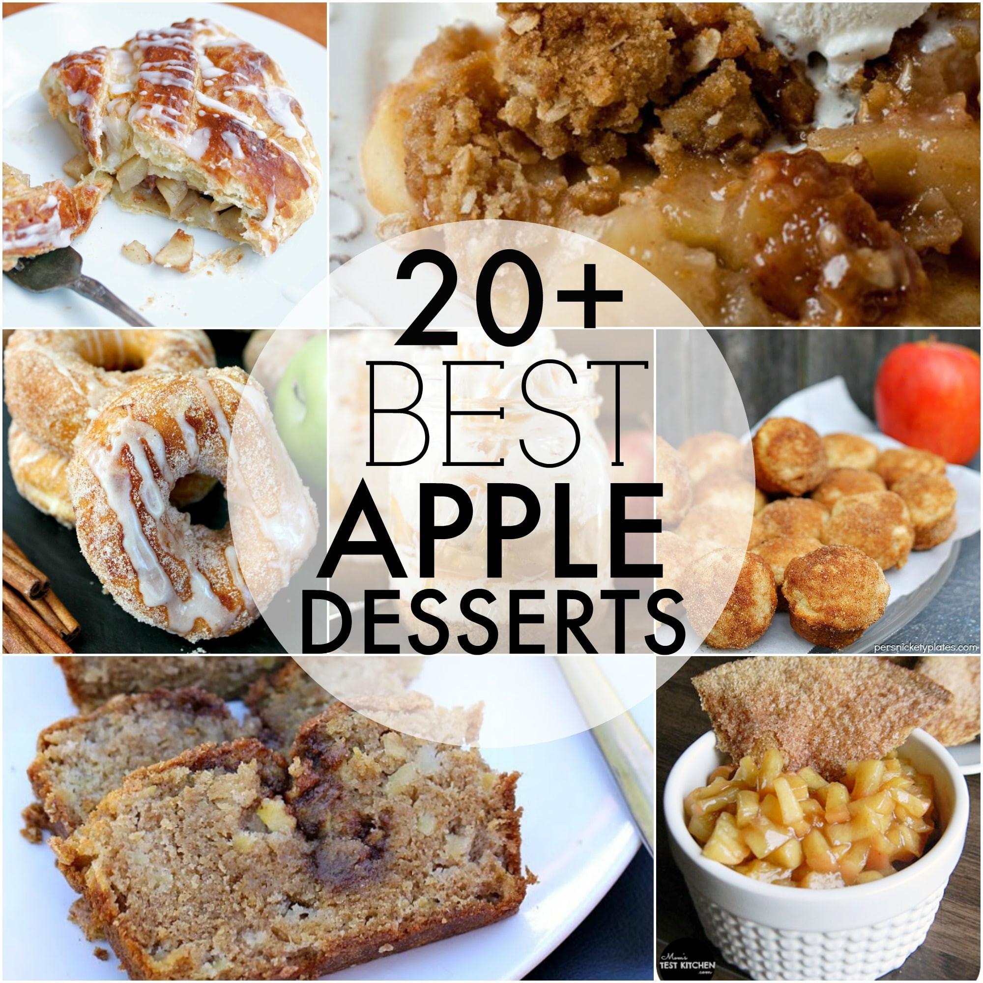 Best Apple Desserts  The BEST Apple Desserts Persnickety Plates