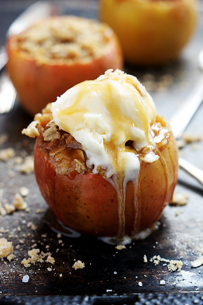 Best Apple Desserts  Apple Crisp Stuffed Baked Apples