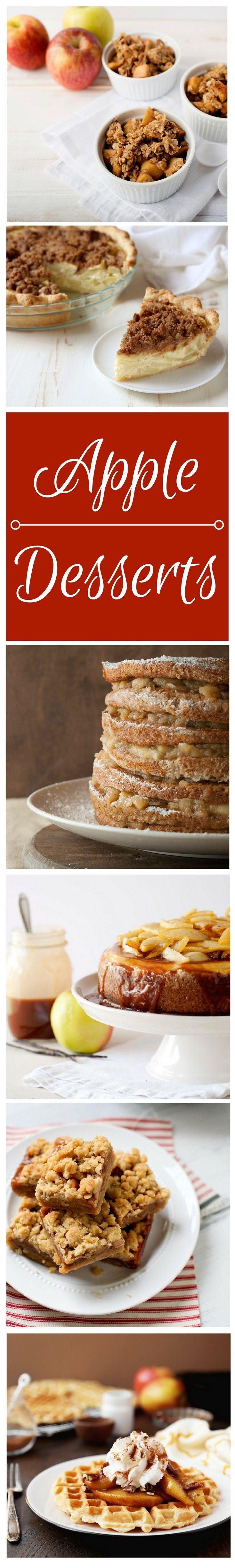 Best Apple Desserts  17 Best images about Dessert Recipes on Pinterest