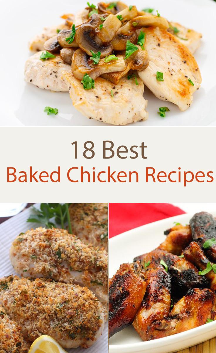 Best Baked Chicken Recipes  18 Best Baked Chicken Recipes