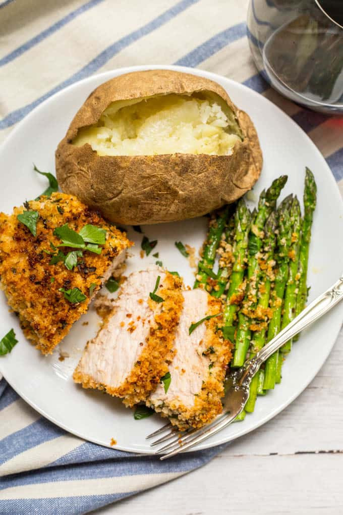 Best Baked Pork Chops  Crunchy baked pork chops video Family Food on the Table