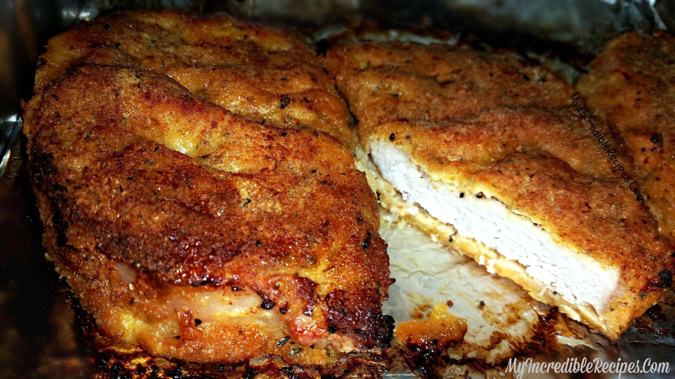 Best Baked Pork Chops  Delicious Baked Parmesan Crusted Pork Chops