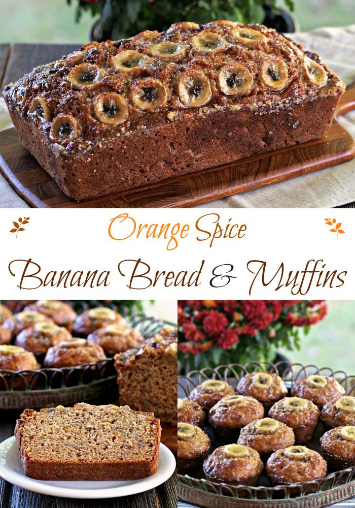 Best Banana Bread Muffins  Orange Spice Banana Bread Simply Sated