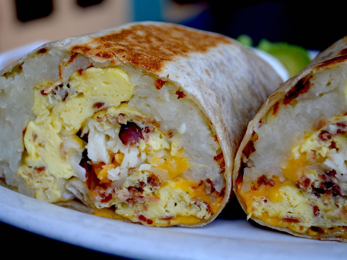 Best Breakfast Burritos  36 Mind Blowing Breakfast Burritos in LA Eater LA