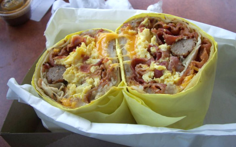 Best Breakfast Burritos  13 Breakfast Burritos in L A You Have to Eat Before You