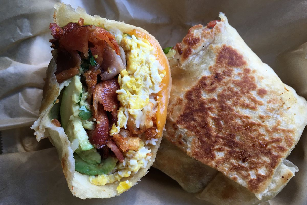 Best Breakfast Burritos  LA's Best Breakfast Burrito Truck Rolls Into Austin