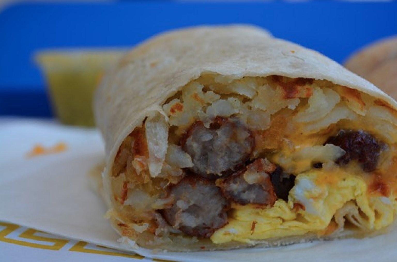 Best Breakfast Burritos  LA s Best Breakfast Burritos Are Greasy Eggy And