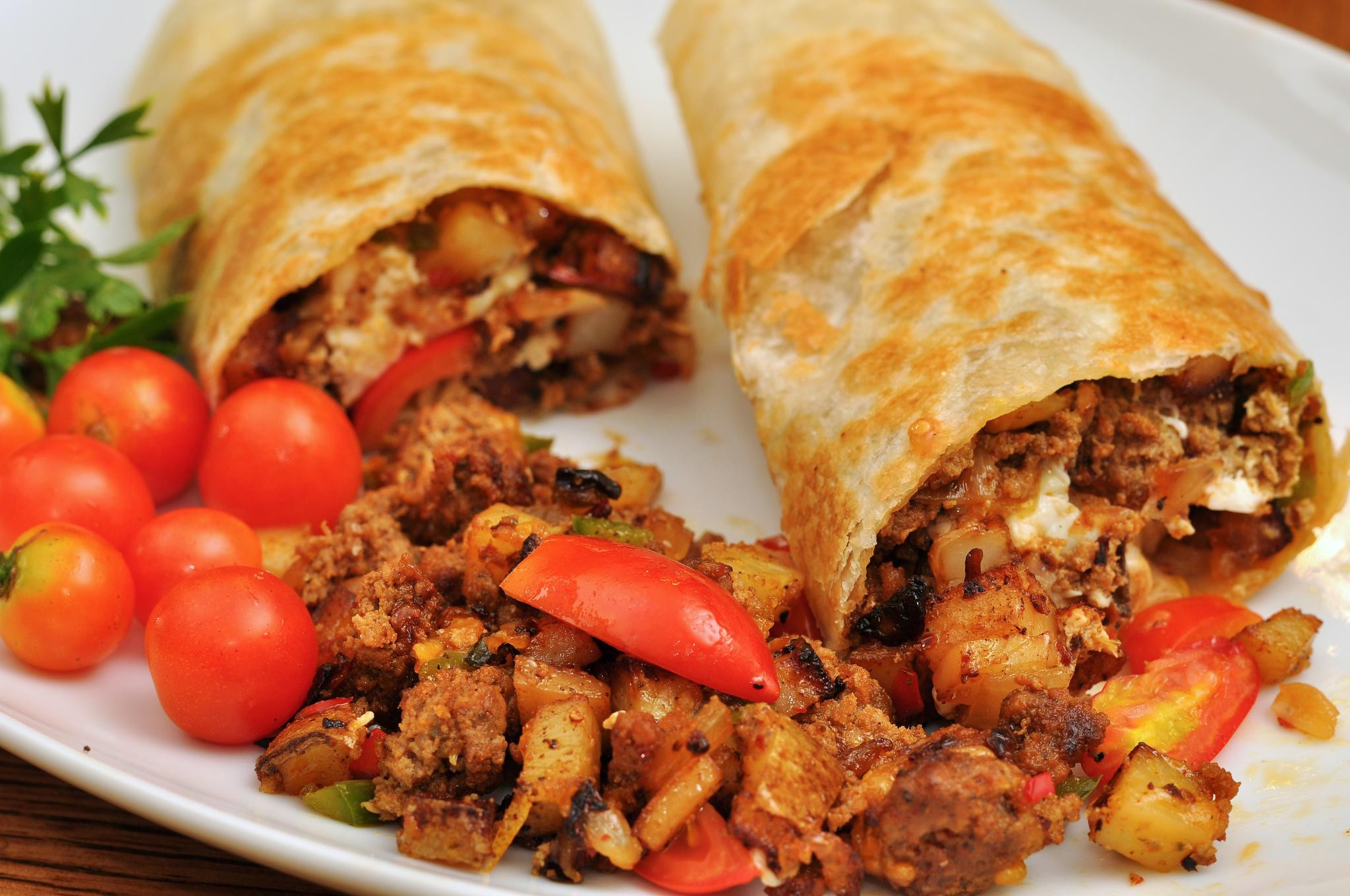Best Breakfast Burritos  The Little Donkey Speculations on the Evolution of