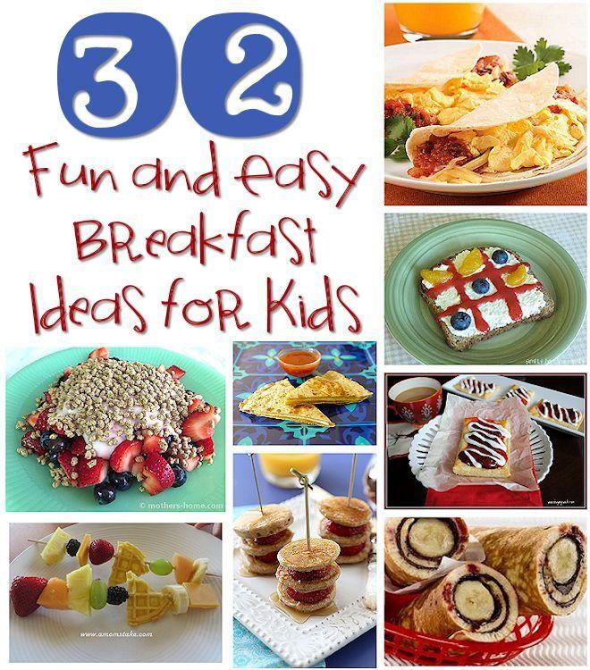 Best Breakfast For Kids Best 25 Breakfast ideas for kids ideas on Pinterest