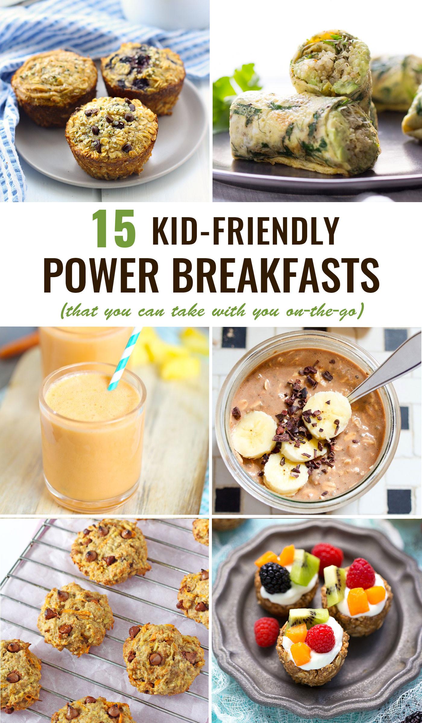 Best Breakfast For Kids Kid Friendly Power Breakfasts To Go