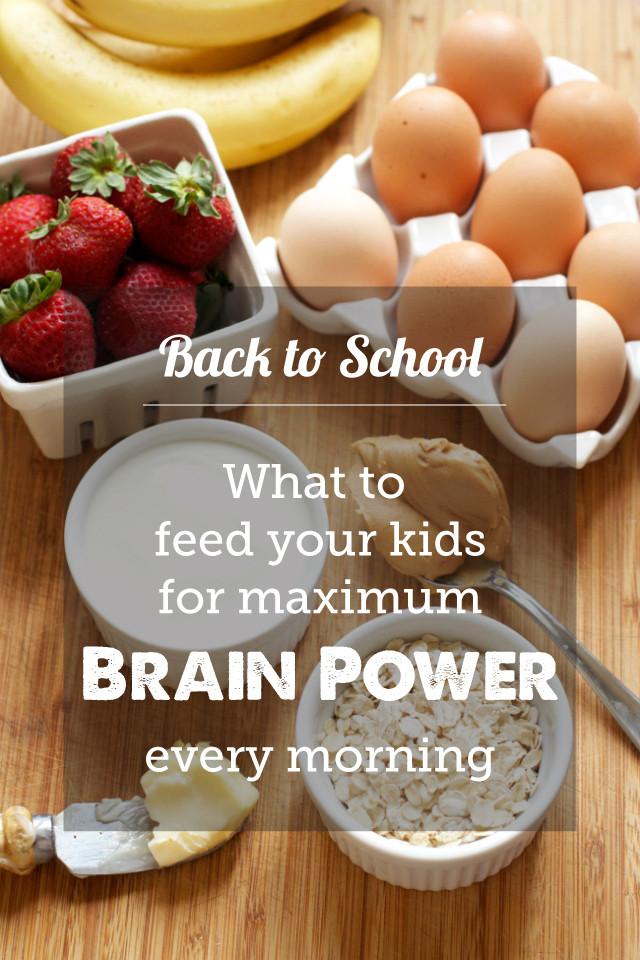 Best Breakfast For Kids The Best Breakfasts for School Brain Power Modern