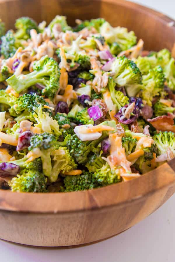 Best Broccoli Salad Recipe  best broccoli salad recipe