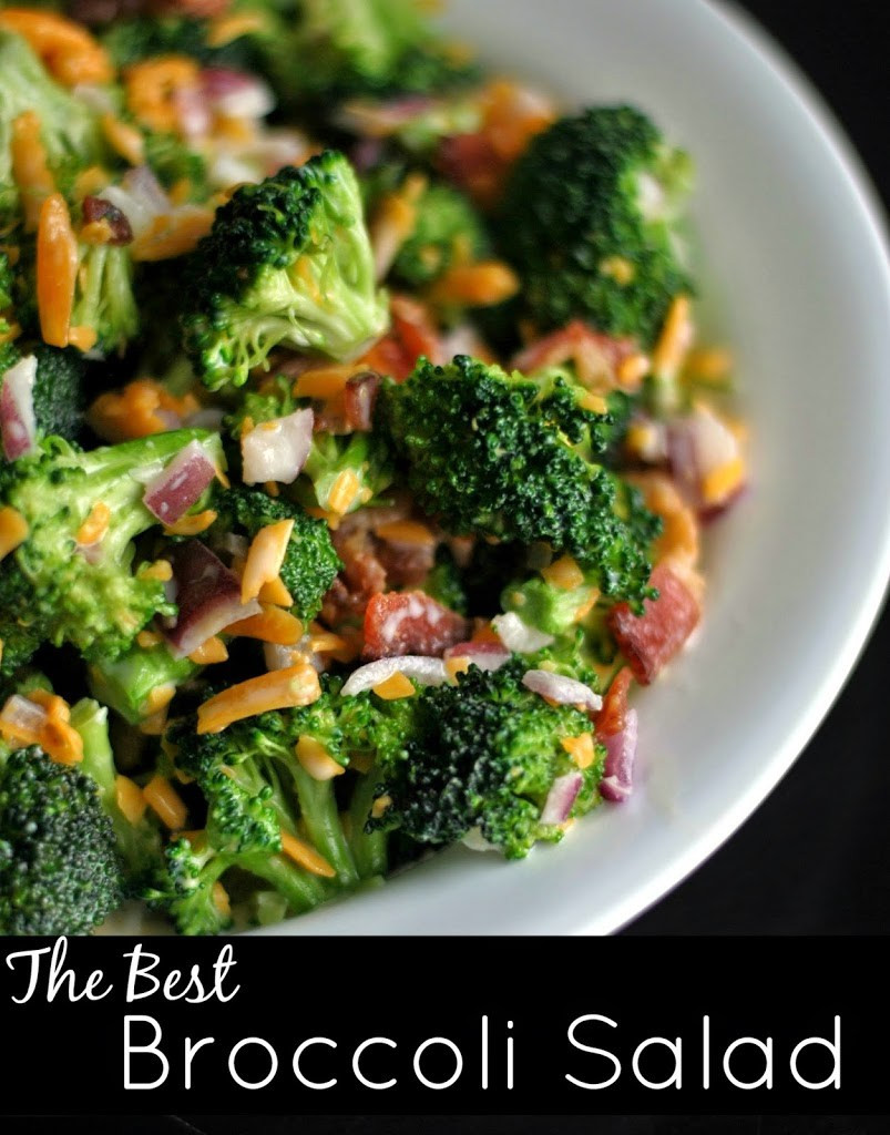 Best Broccoli Salad Recipe  The Best Broccoli Salad Aunt Bee s Recipes