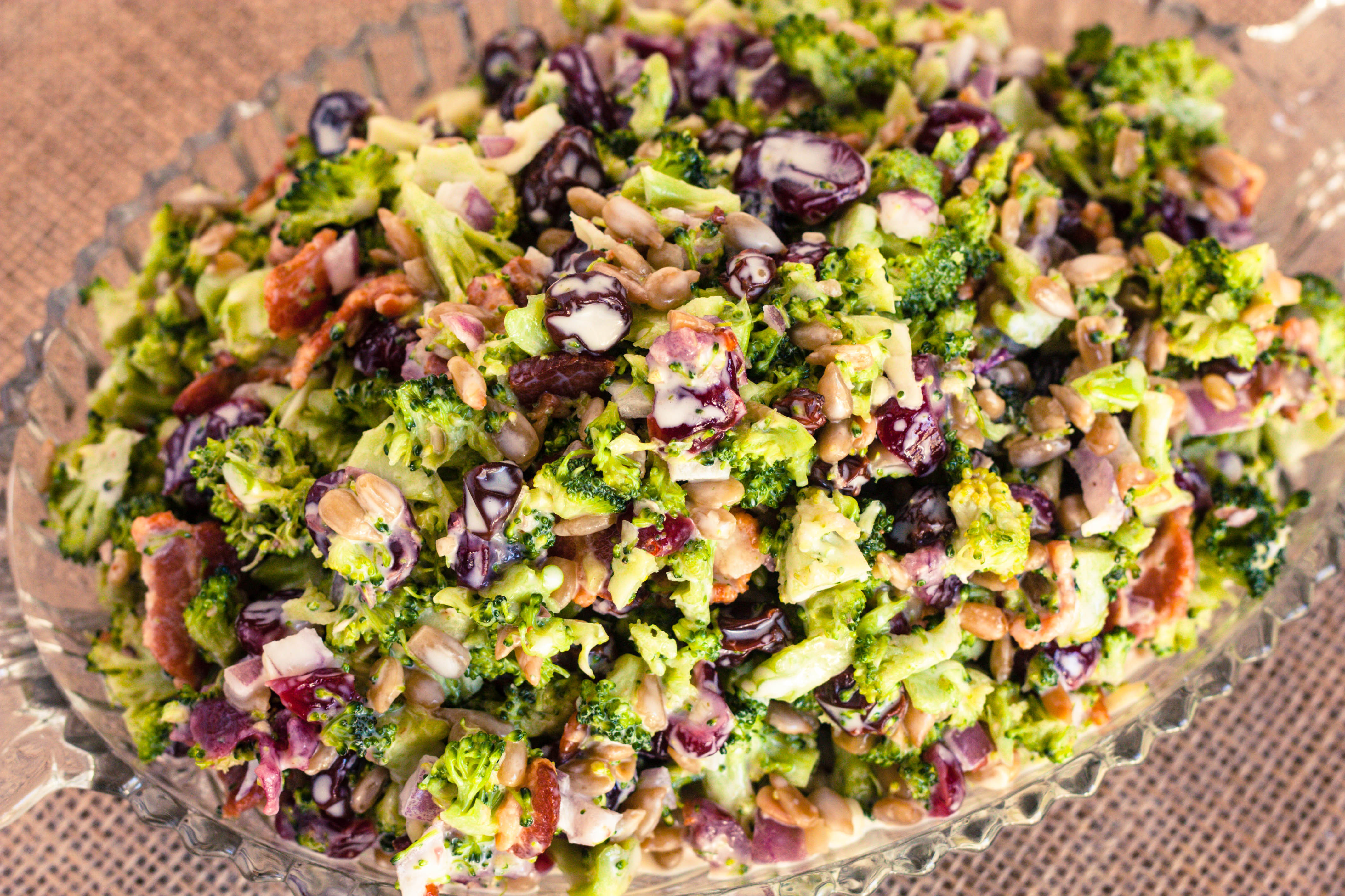 Best Broccoli Salad Recipe  Broccoli Salad