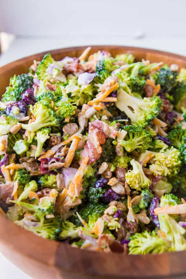 Best Broccoli Salad Recipe  Our BEST Broccoli Salad Oh Sweet Basil