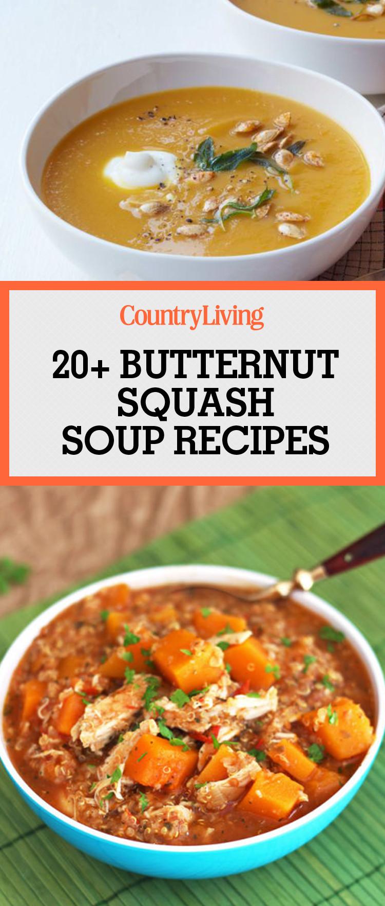 Best Butternut Squash Soup  24 Best Butternut Squash Soup Recipes How to Make