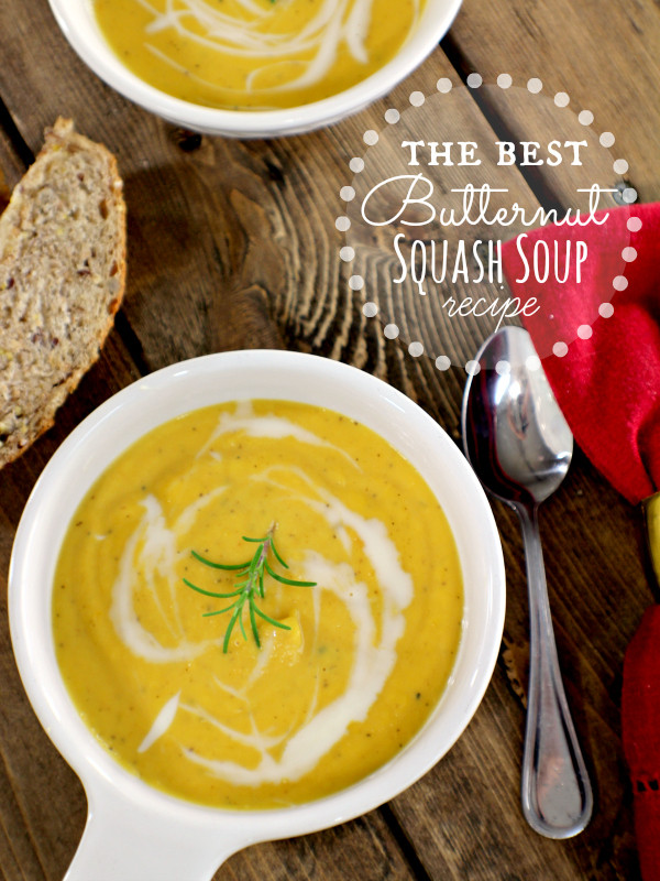 Best Butternut Squash Soup  best butternut squash soup recipe