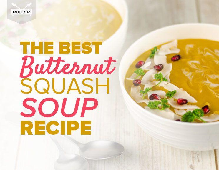 Best Butternut Squash Soup Recipe  The Best Butternut Squash Soup Recipe with Pomegranate Seeds
