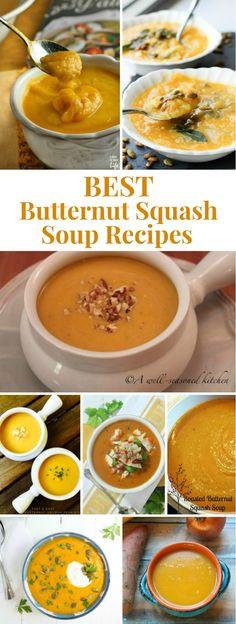 Best Butternut Squash Soup Recipe  Butternut Squash Soup Recipe