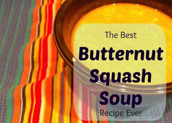 Best Butternut Squash Soup Recipe  The Best Butternut Squash Soup Recipe Ever A Foo