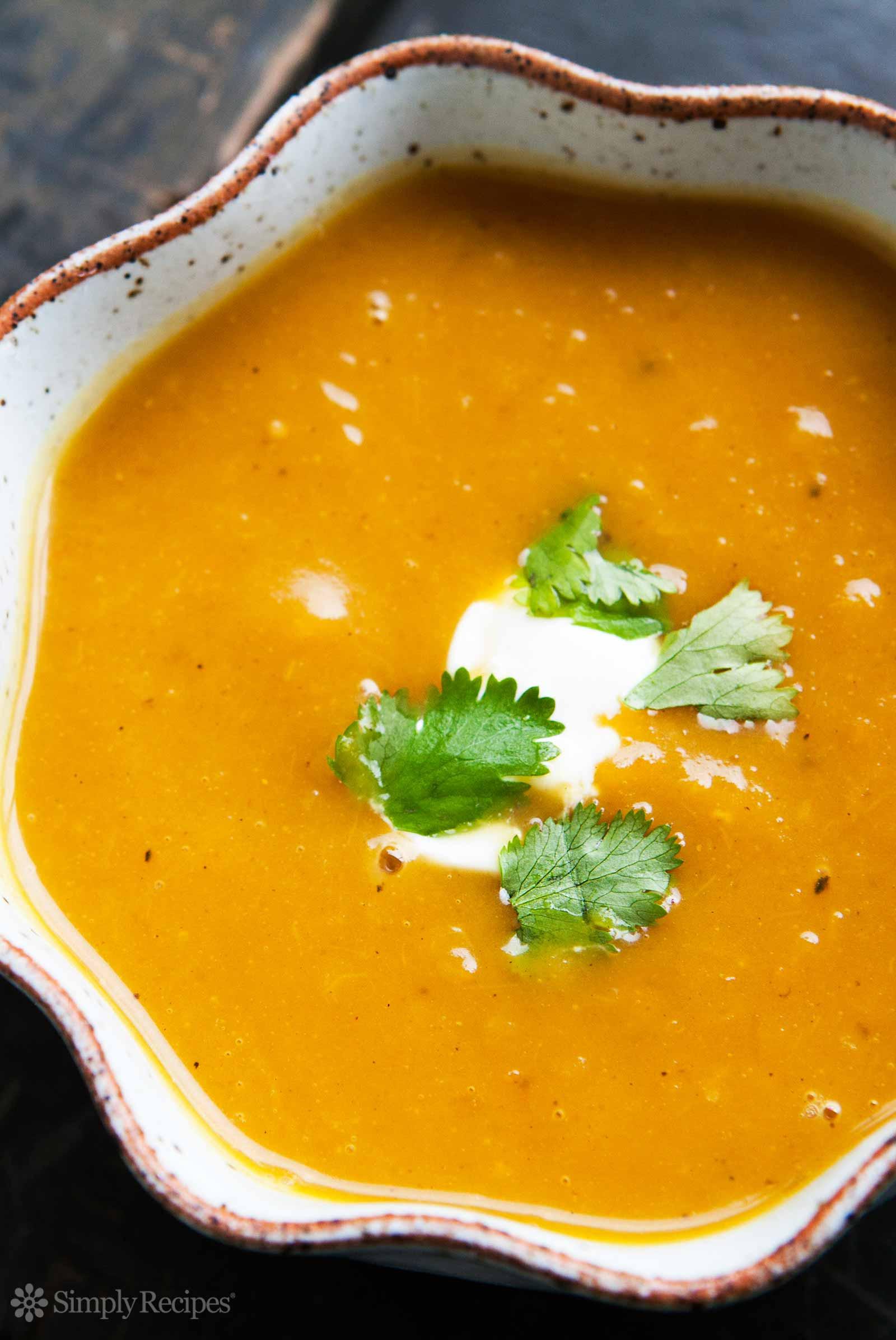 Best Butternut Squash Soup  Curried Butternut Squash Soup Recipe