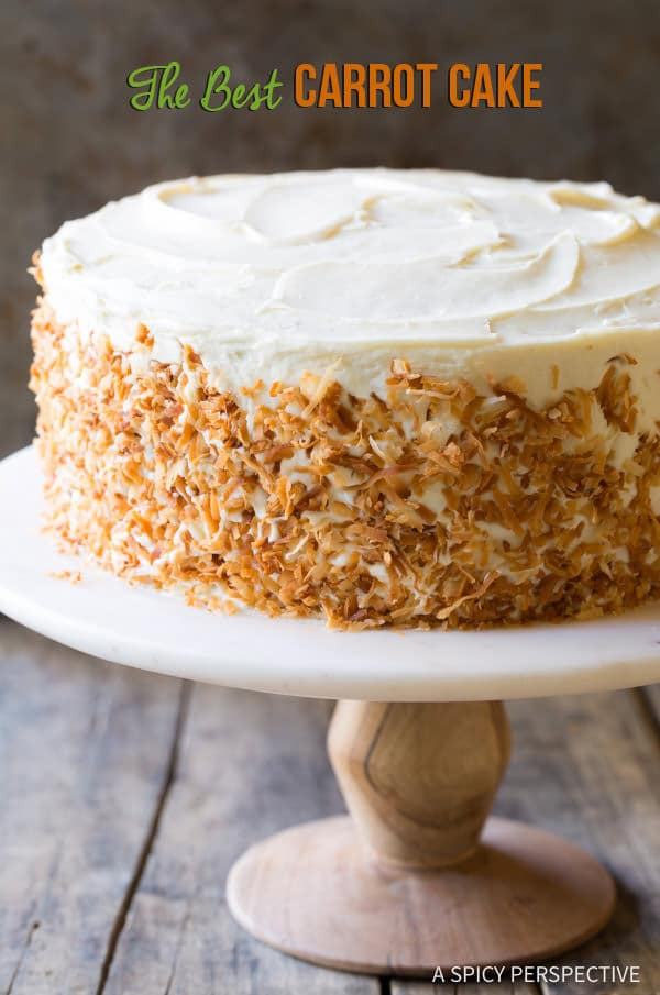 Best Carrot Cake  The Best Carrot Cake Recipe A Spicy Perspective