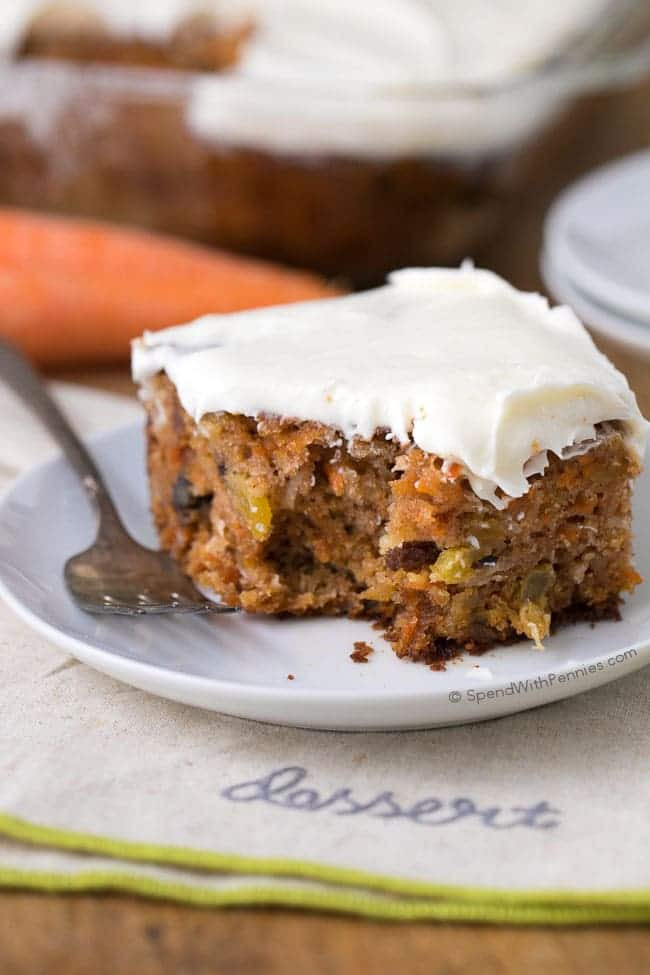 Best Carrot Cake Recipe  The Best Carrot Cake Spend With Pennies