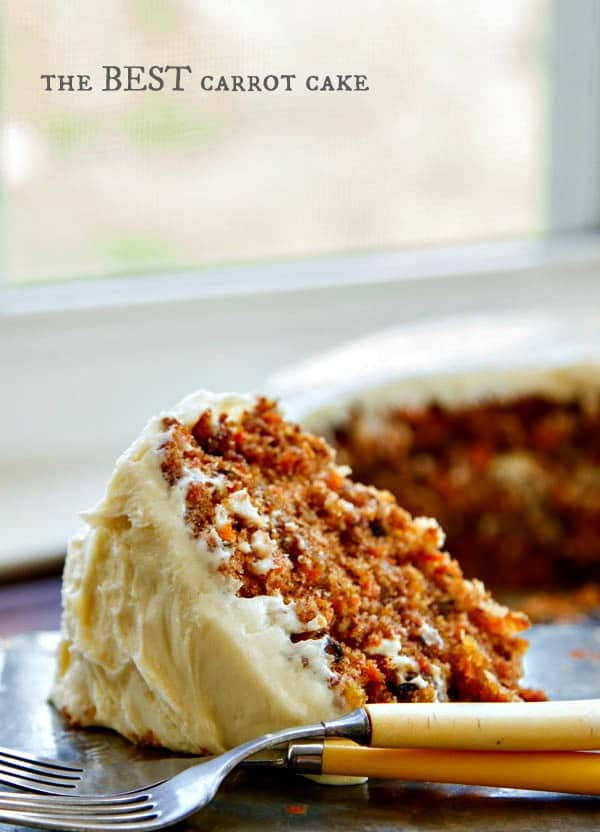 Best Carrot Cake Recipe  Best recipes carrot cake Food cake recipes