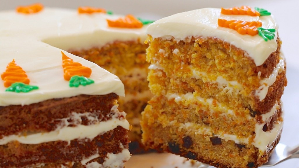 Best Carrot Cake Recipe  Best Ever Carrot Cake & How to Make Cream Cheese Frosting