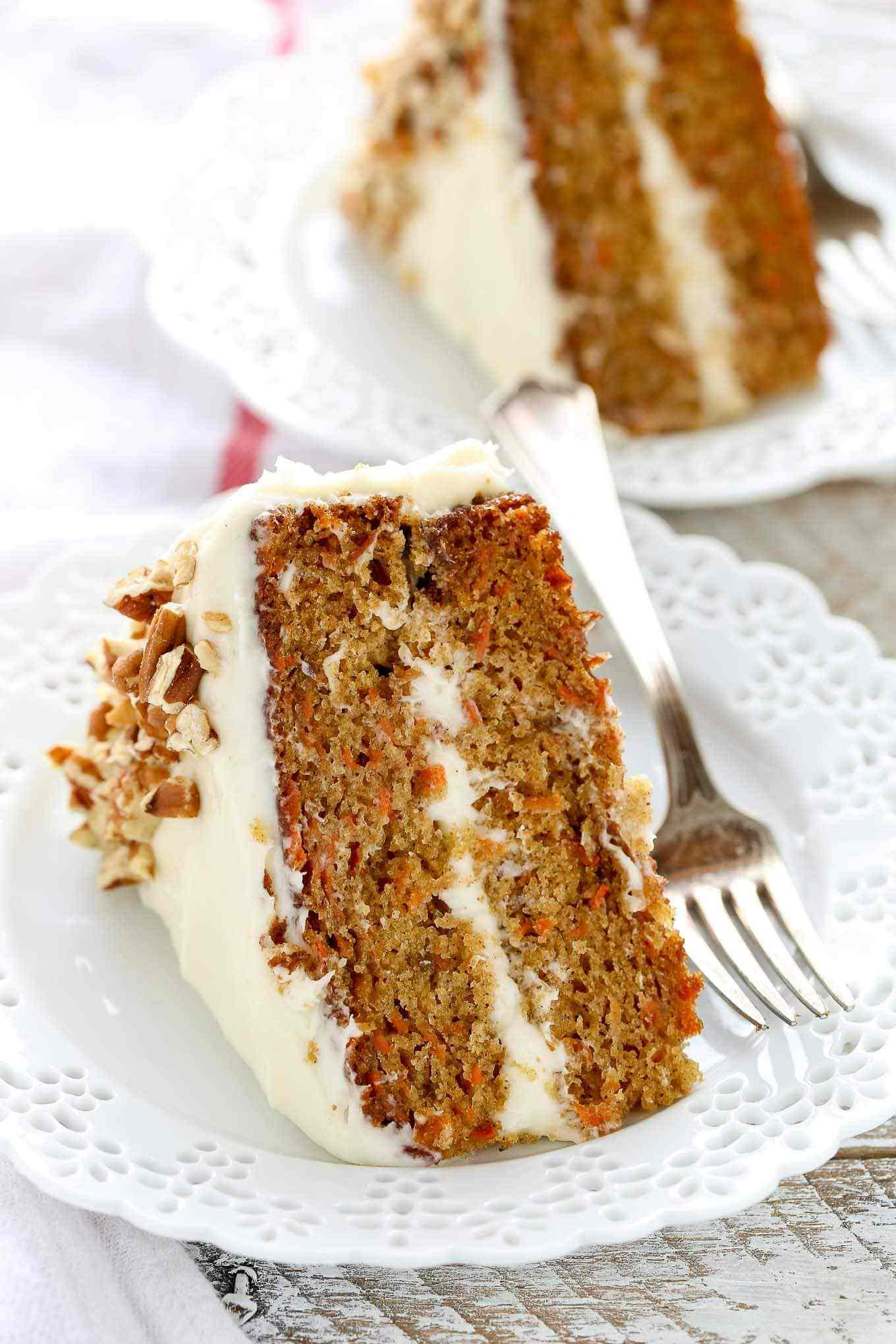 Best Carrot Cake  The BEST Carrot Cake Recipe