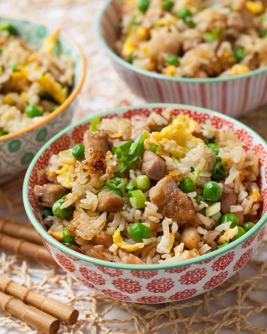 Best Chicken Fried Rice Recipe  Chicken Fried Rice Steamy Kitchen Recipes