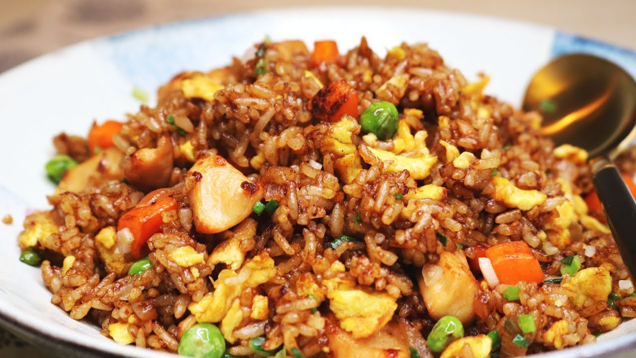 Best Chicken Fried Rice Recipe  BETTER THAN TAKEOUT AND EASY Chinese Chicken Fried Rice