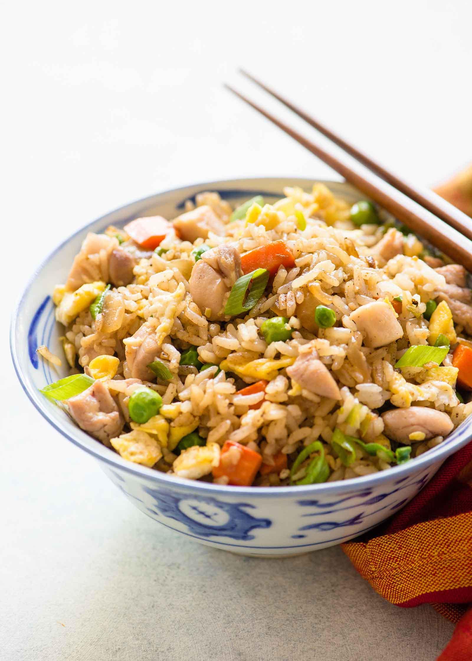 Best Chicken Fried Rice Recipe  Chicken Fried Rice Recipe