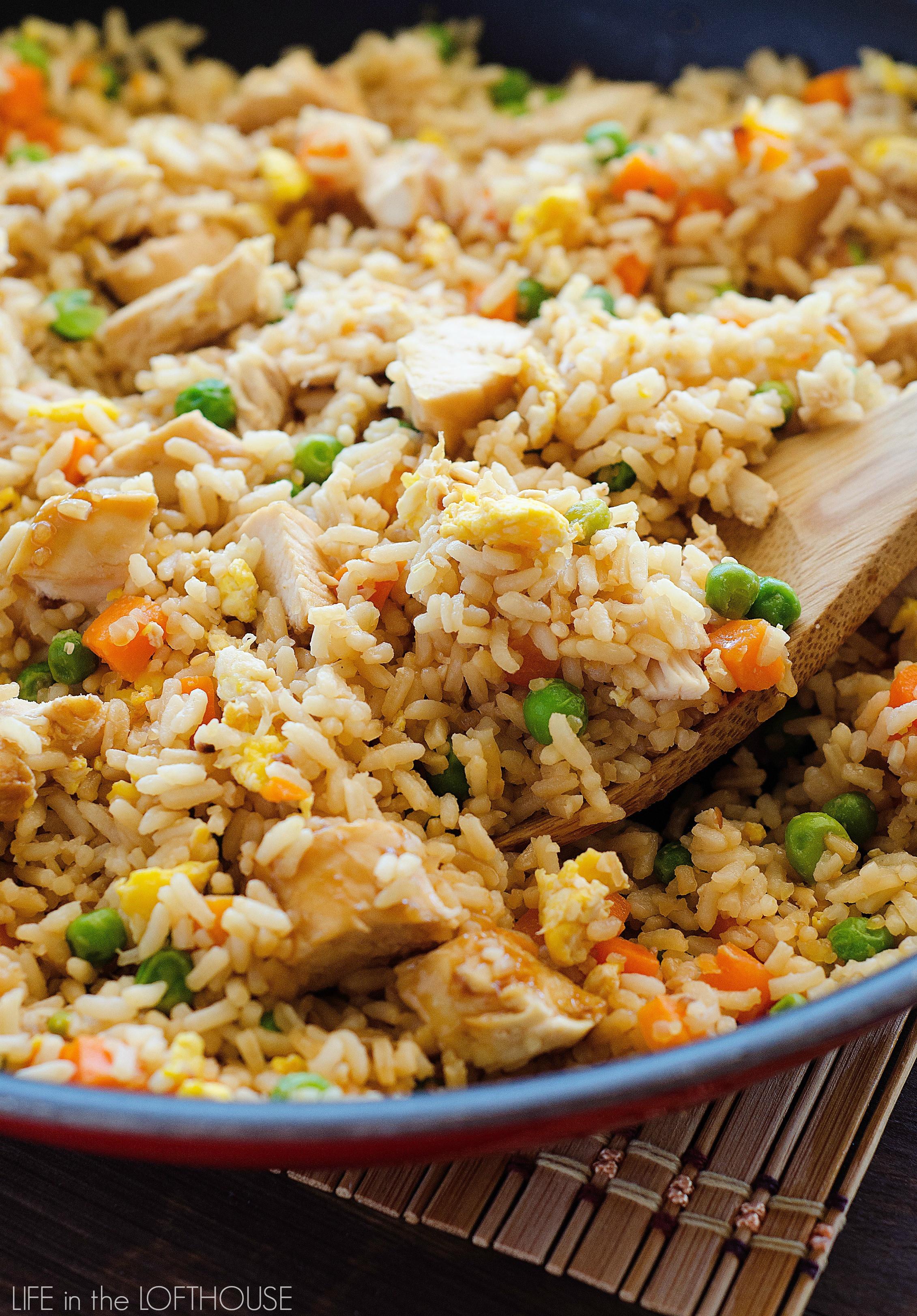 Best Chicken Fried Rice Recipe  Chicken Fried Rice