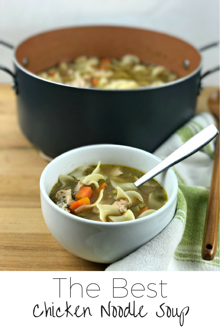 Best Chicken Noodle Soup  RECIPE The Best Chicken Noodle Soup More Than Your