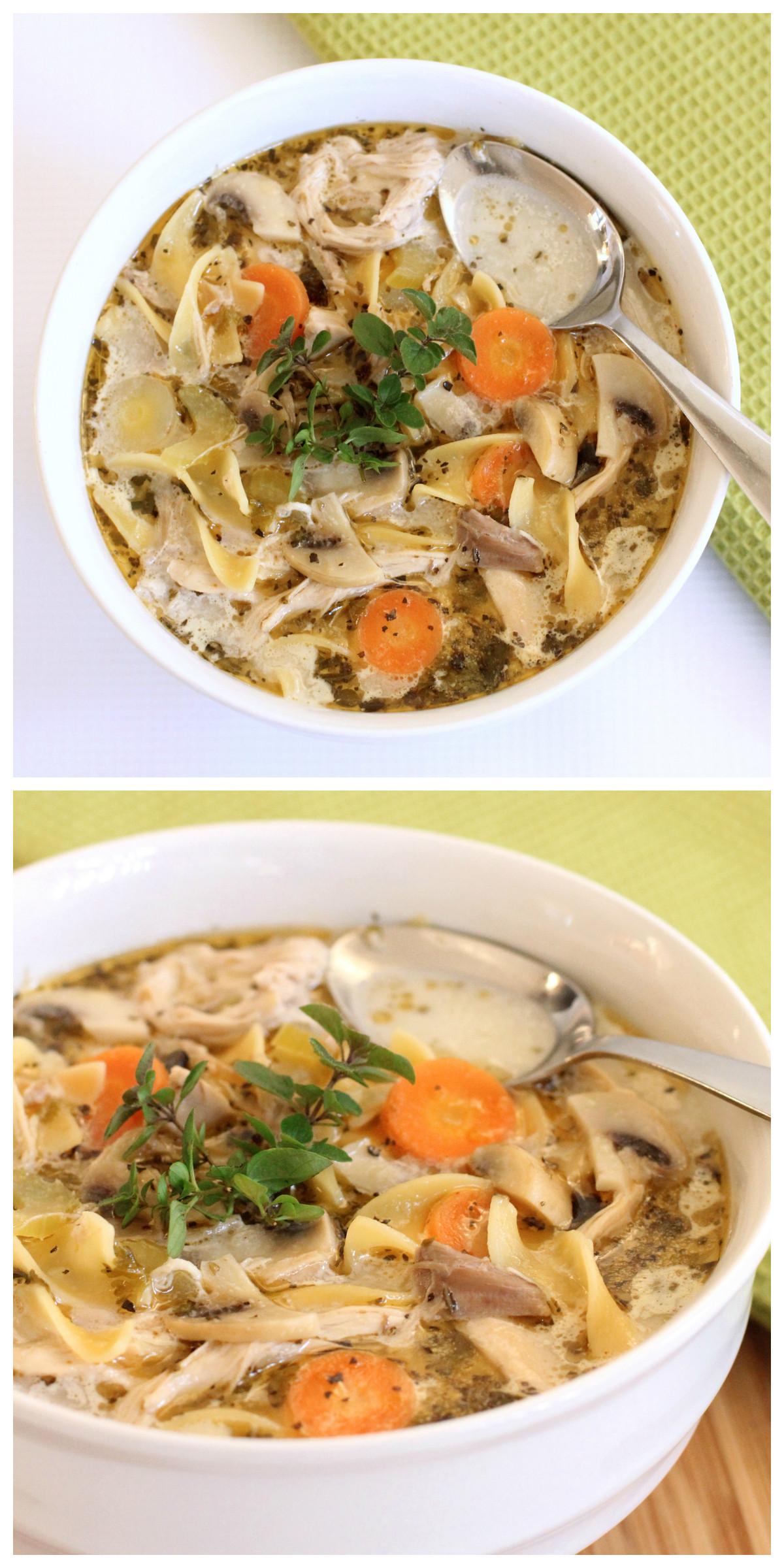 Best Chicken Noodle Soup  The Best Chicken Noodle Soup You ll Ever Eat Dabbles