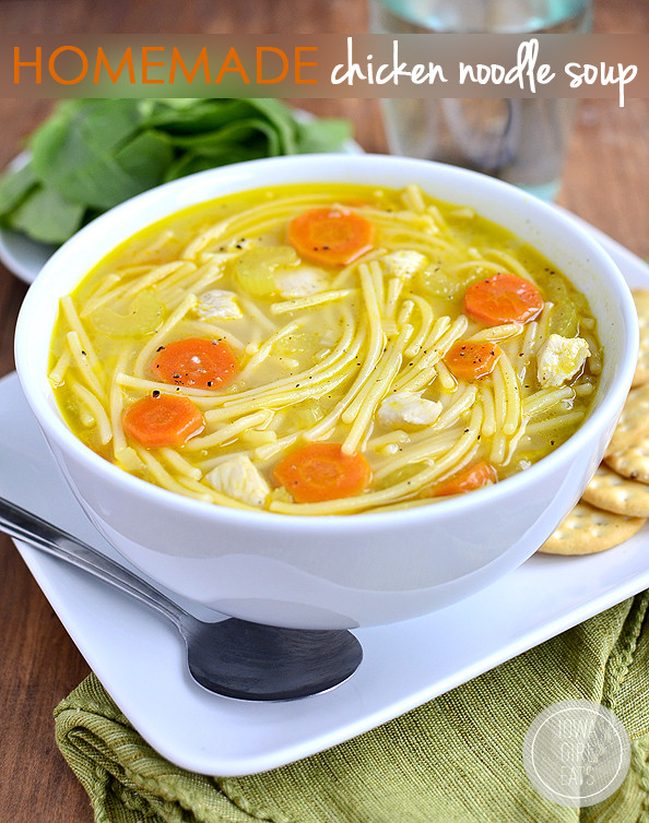 Best Chicken Noodle Soup Recipe  Gluten Free Homemade Chicken Noodle Soup Video Iowa