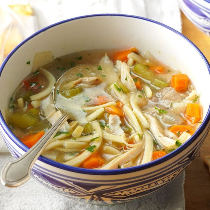 Best Chicken Noodle Soup Recipe  The Ultimate Chicken Noodle Soup Recipe